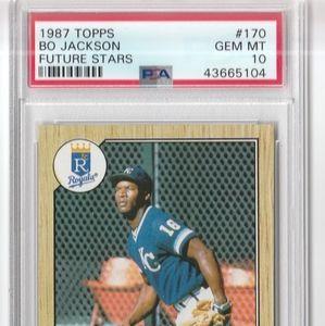 Topps Other - Bo Jackson PSA 10 Rookie Baseball Card 1987 Topps